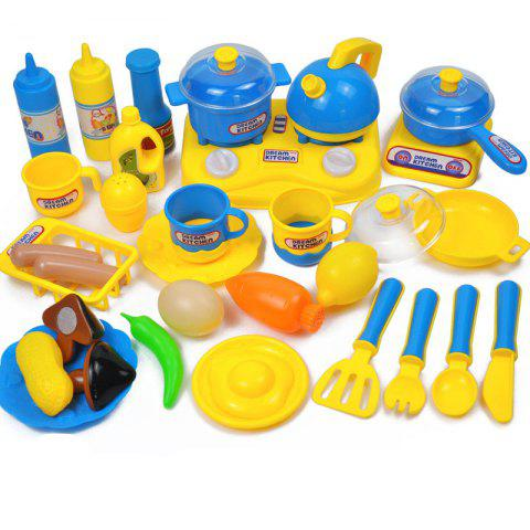 Early Educational Safety Kitchen Toys Sets - multicolor B