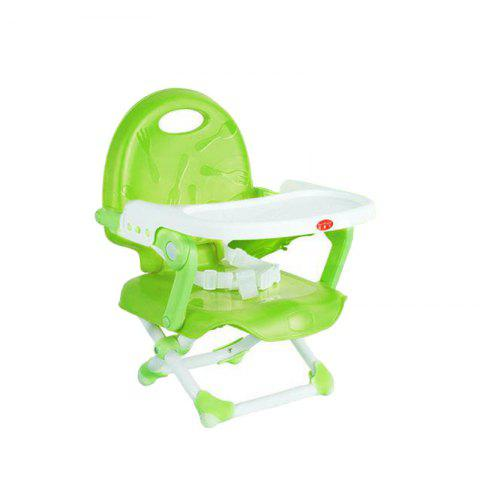 Multifunctional Folding Portable Baby Dining Chair - GREEN