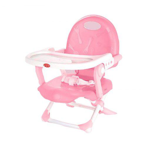 Multifunctional Folding Portable Baby Dining Chair - LIGHT PINK