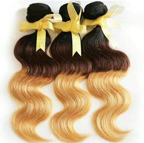 8-INCH Tricolor Curly Hair - multicolor 22INCH