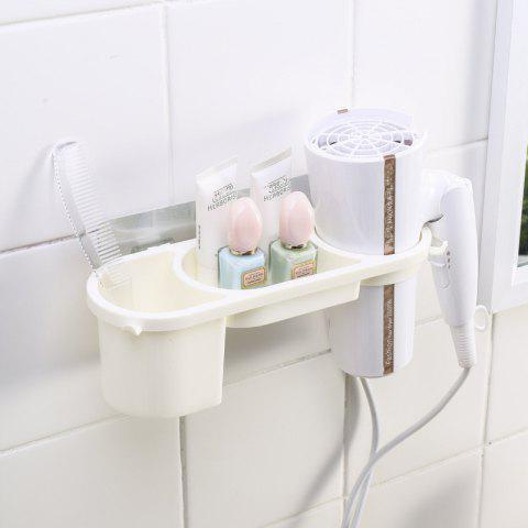 Household Wall Hanging Hair Dryer Storage Rack - multicolor A REGULAR
