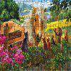 Horse and Cat 3D Jigsaw Paper Puzzle Block Assembly Birthday Toy - multicolor