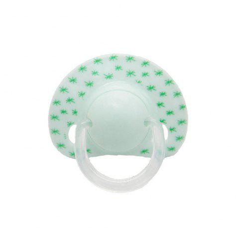 Baby's Silicone Pacifier 1 Piece Cute Baby Product - LIGHT SLATE