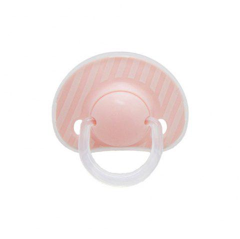 Baby's Silicone Pacifier 1 Piece Cute Baby Product - LIGHT PINK