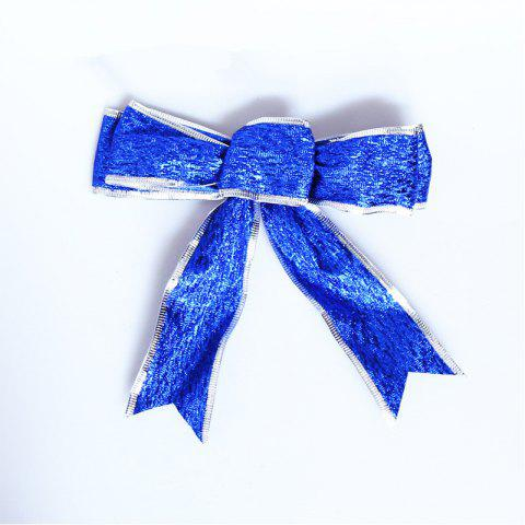 Christmas Bow Christmas Tree Garland Decoration - COBALT BLUE 1PC