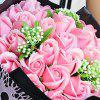 Valentine'S Day Gift Soap Flower 18 Hand Bouquet of Roses - PINK 30*20*20CM