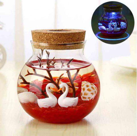 Underwater World Landscape Decoration Creative DIY Ecological Bottle Se - multicolor B