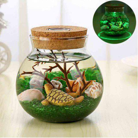 Underwater World Landscape Decoration Creative DIY Ecological Bottle Se - multicolor A
