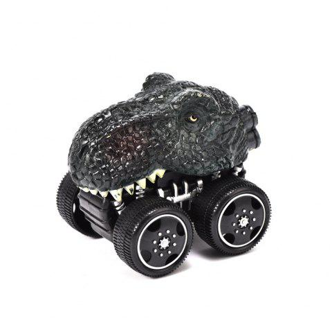 1PCS Dinosaur Inertia Toy Car Boxed Dinosaur Chariot - multicolor B