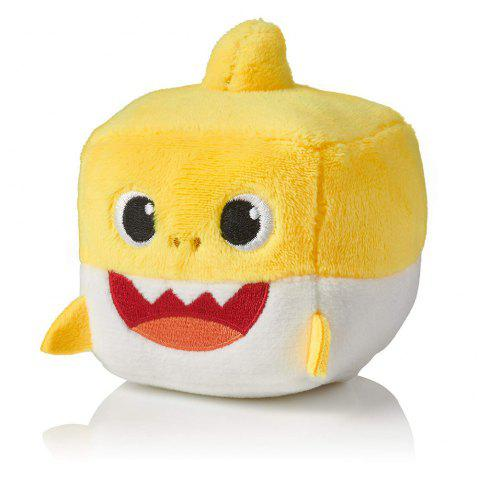 Peluche officielle Song Cube Small Shark - Jaune 1PC