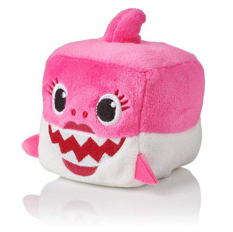 Peluche officielle Song Cube Small Shark - Rose 1PC