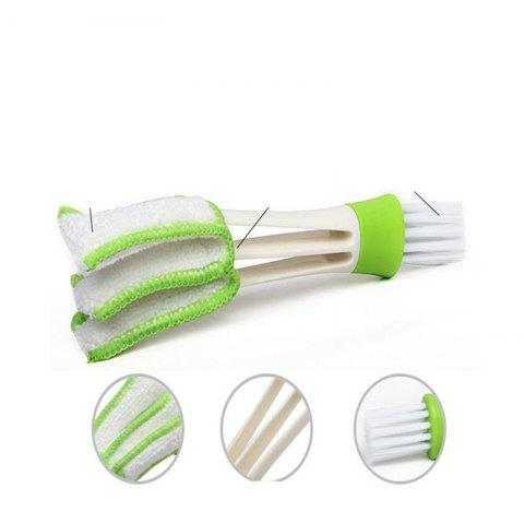 Practical and Convenient Green Three-Piece Clean Brush - GREEN