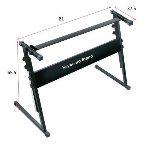 Keyboard Stand Matching with Keyboard two size - BLACK L