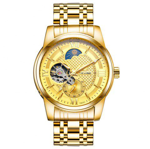 Tevise T805C Set Auger Water-resistant Calendar Automatic Mechanical Watch - multicolor B
