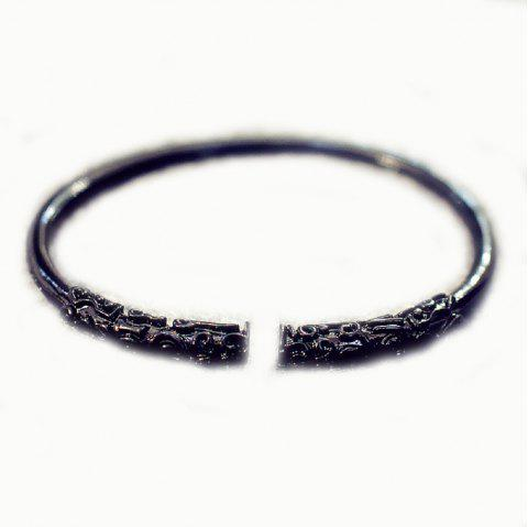 Dasheng Retourner Au Bracelet Cerceau Or Wishful - Noir 1PC