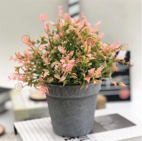 Creative Potted Plant Restaurant Hotel Simulated Flower Decoration - multicolor B