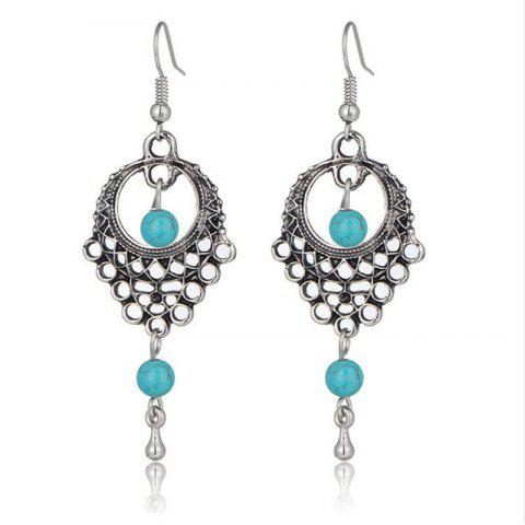 Turquoise Earrings for Fashion Women's in Europe and America - SILVER