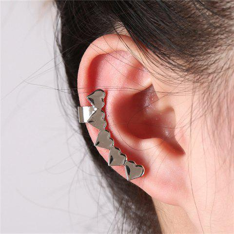 Creative and Exquisite Ladies Loving Earrings - SILVER
