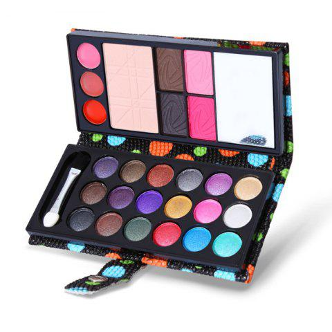 Color Eye Shadow 26 Color Eye Shadow Combination Combination of Student Eye Shad - BLACK 1 SET