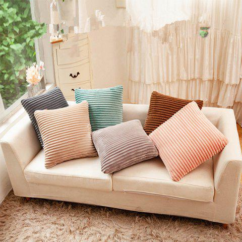 Bedside Core Pillow with Thick Square Pillow - DEEP COFFEE 1PC