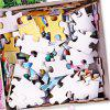 3D Jigsaw Paper Fairy Tale Puzzle Block Assembly Birthday Toy - multicolor