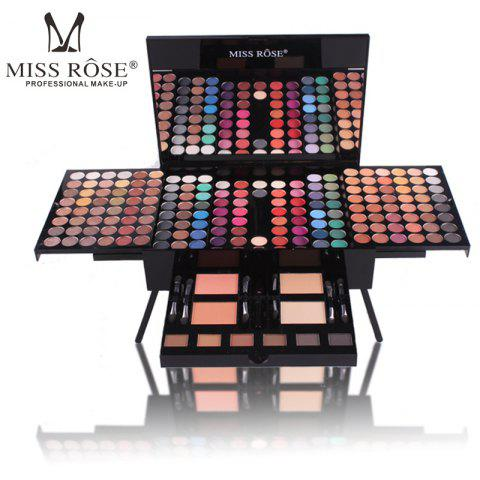 Eyeshadow Palette Case Makeup Set of 180 Colors Eye Shadow - multicolor A
