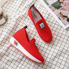Comfortable WomenS Single Shoes with Thick Bottom - RED EU 40