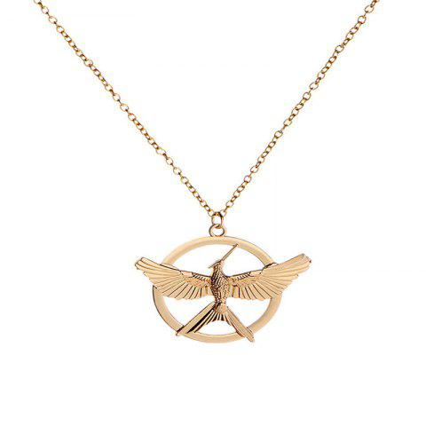 Personality Trend Men Laugh At Bird Necklaces - GOLD