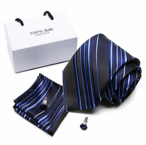 Business Tie Wedding Tie Casual Tie Men'S Tie - multicolor B 1 SET