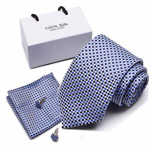 New Business Tie Wedding Tie Fashion Tie Casual Tie Suit - multicolor A 1 SET