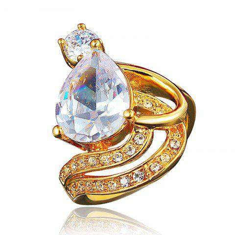 Bridal Diamonds Rings For Women Wedding Party Fine Jewelry - GOLD US 6
