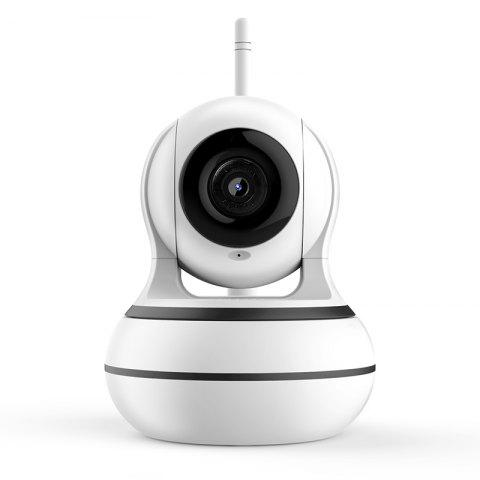 Smart Camera with Doorbell Call for Home Security - WHITE HD 1080P