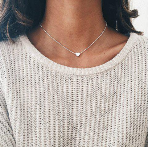 Loving Clavicle Neck Chain - SILVER