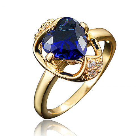 Jewelry Rings High Quality Heart-Shaped Party Ring For Women'S Gift - multicolor H US 9