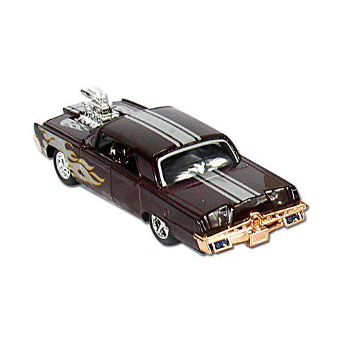DY-4302-11A  1/43 High Simulation Toy Moldel Cars - TAUPE 12PCS