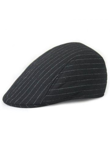 cd094483a32 Autumn and Winter Warm Woolen Caps Simple Striped Beret + Code for 56-58CM