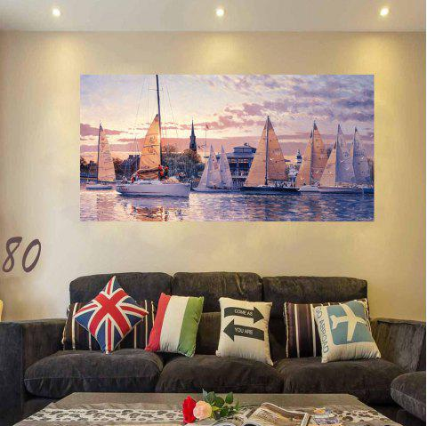 HD Waterproof Fashion Simple Harbor2 Decoration Printing Poster - FANTASTIC 50X100CMX1PCS