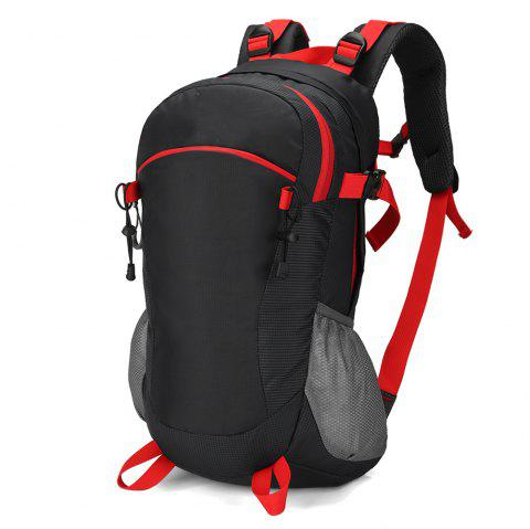 40L Waterproof and Tear-Resistant Outdoor Travel Bag for Men and Women - BLACK