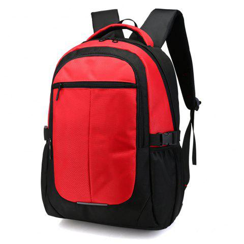 Casual Multi-Functional Business Men'S Travel Bag Student Bag - RED