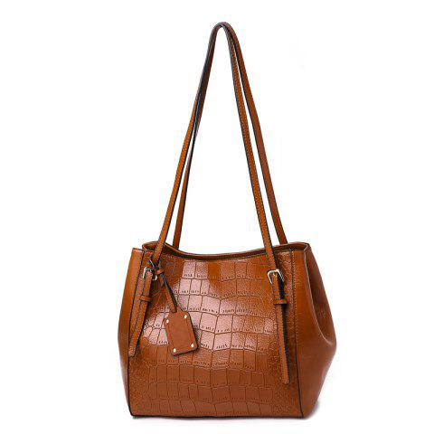 Fashion Casual Ladies Shoulder Bag/Winter/Summer/Spring/Fall - BROWN