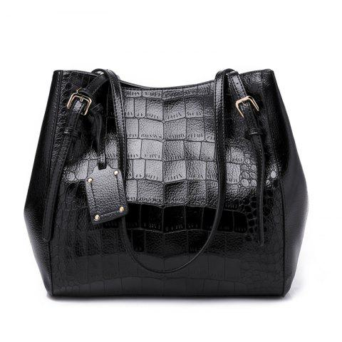 Fashion Casual Ladies Shoulder Bag/Winter/Summer/Spring/Fall - BLACK