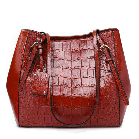 Fashion Casual Ladies Shoulder Bag/Winter/Summer/Spring/Fall - RED WINE