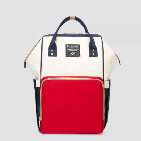 New Fashion Mummy Bag Backpack Large CapacityWinter/Summer/Spring/Fall - multicolor A