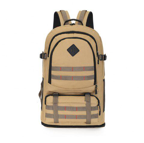 Waterproof Business Computer Backpack Wearable Breathable Travel Bag - TAN