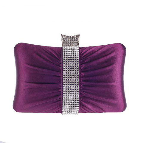 Classic Set Auger Dinner Bag Hand Bag Pillow Type Small Package - DARK ORCHID