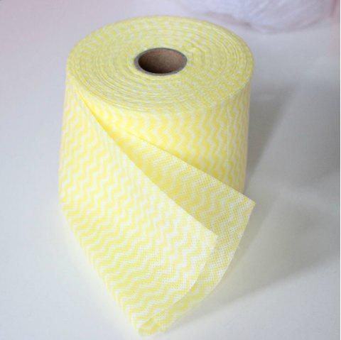 Disposable Clean Beauty Towel - CORN YELLOW