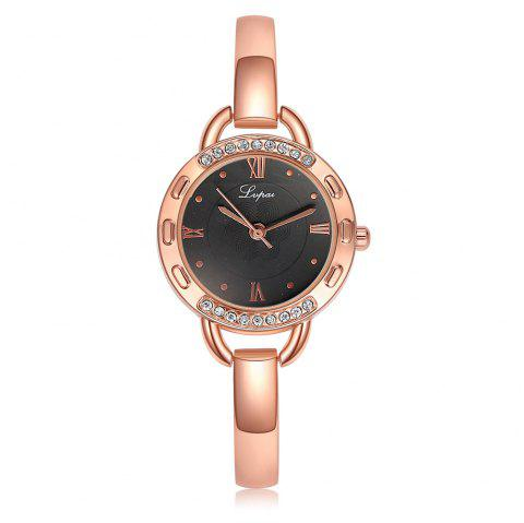 Women Elegant Elegant Bracelet Watch Fashion Wrist Watch Quartz Watch - multicolor A