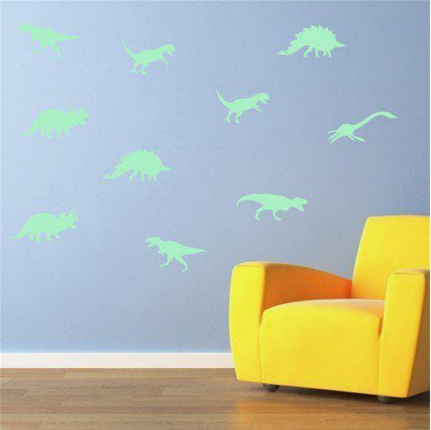 Luminous Wall Sticker Cartoon Dinosaur Fluorescent Sticker - GREEN