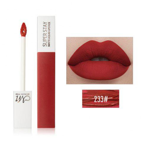 MENOW Non-Sticking Mute Fog Lip Glaze - multicolor E