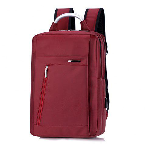 Computer Backpack Breathable Outdoor Fashion Travel Bag - RED